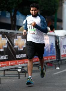 Una de mis primeras carreras